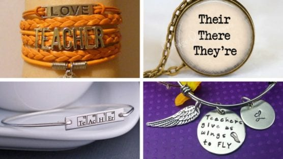 Best Teacher Jewelry on Etsy