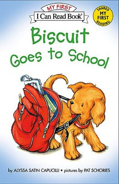 Biscuit Goes to School Book Cover - Popular Kids Books