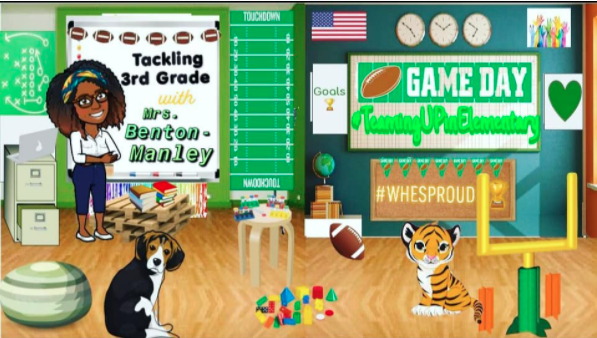 Bitmoji Classroom screenshot