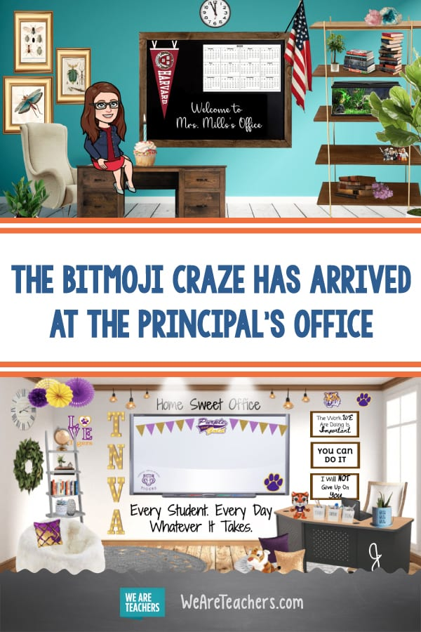 The Bitmoji Craze Has Arrived at the Principal's Office