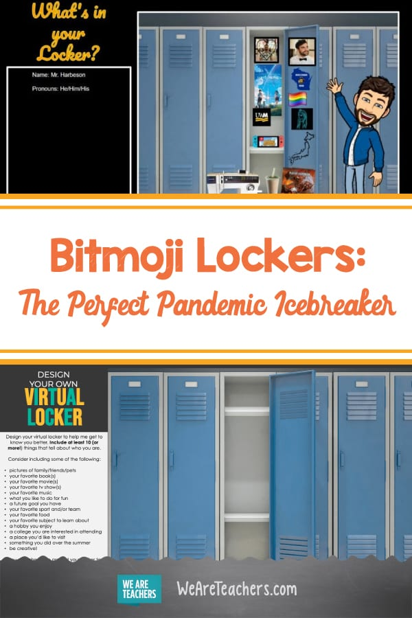 Bitmoji Lockers Are the New Bitmoji Classrooms—and a Great Icebreaker for Students!
