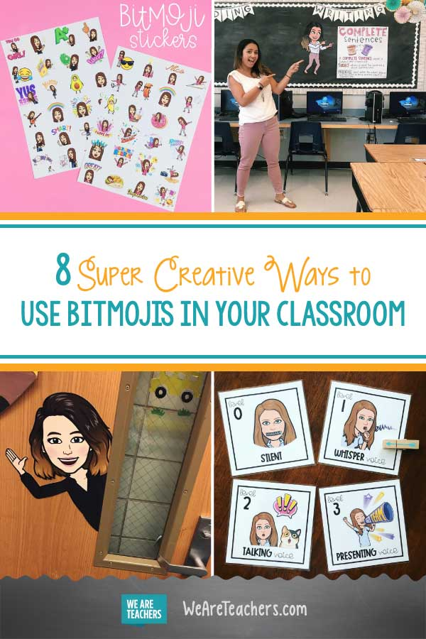8 Super Creative Ways to Use Bitmojis in Your Classroom