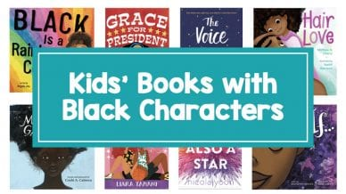 8 books with black protagonists including, Hair Love, Grace for President, The Voice and more.