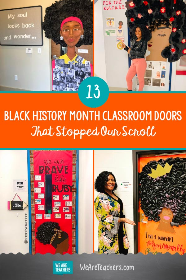 13 Black History Month Classroom Doors That Stopped Our Scroll