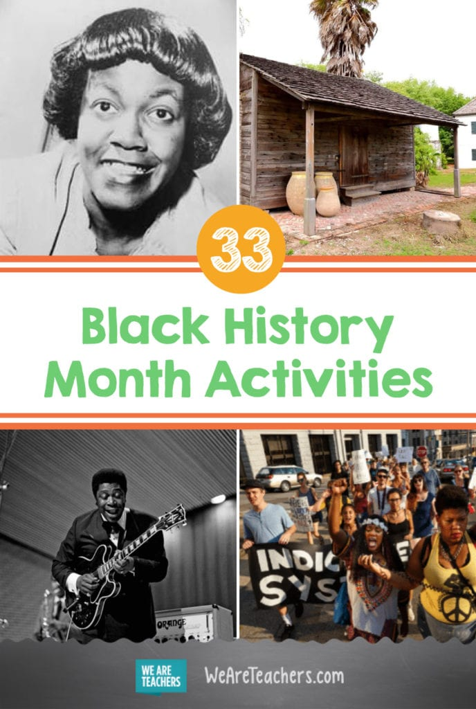 33 Black History Month Activities for February and Beyond