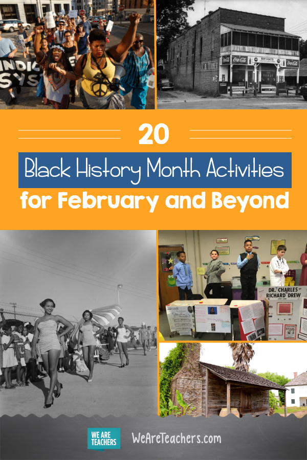 20 Black History Month Activities for February and Beyond