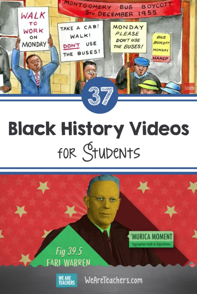37 Black History Videos for Students in Every Grade Level