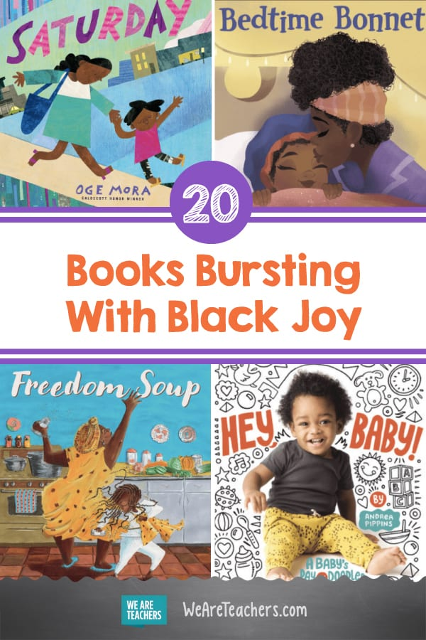 20 Books Bursting With Black Joy