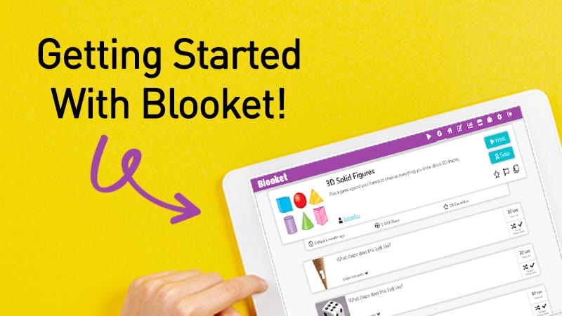 Get Started With Blooket header image