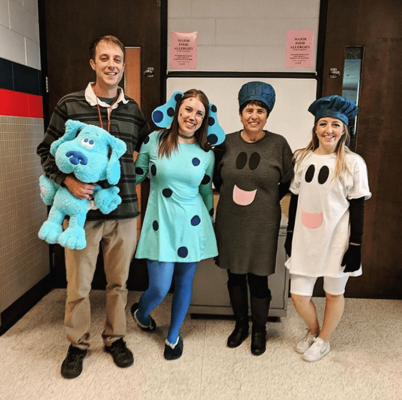 Blue's Clues and Co Halloween costume for Teachers