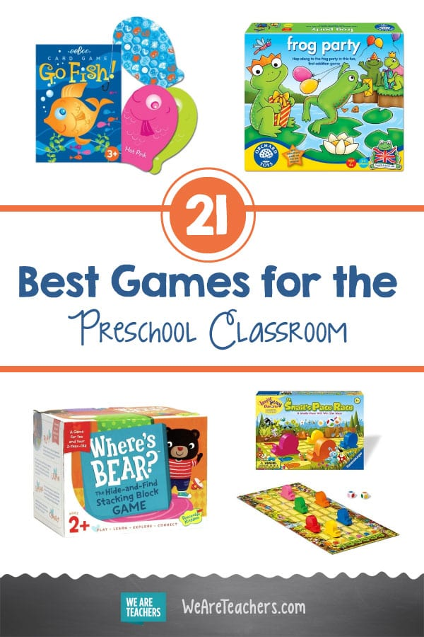 21 Best Card Games and Board Games for the Preschool Classroom