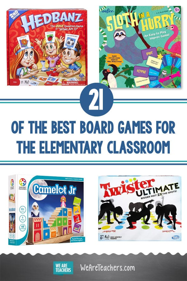 21 of the Best Board Games for the Elementary Classroom