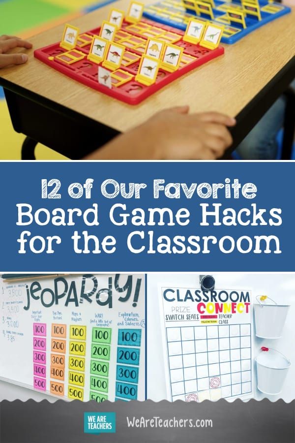 12 of Our Favorite Board Game Hacks for the Classroom