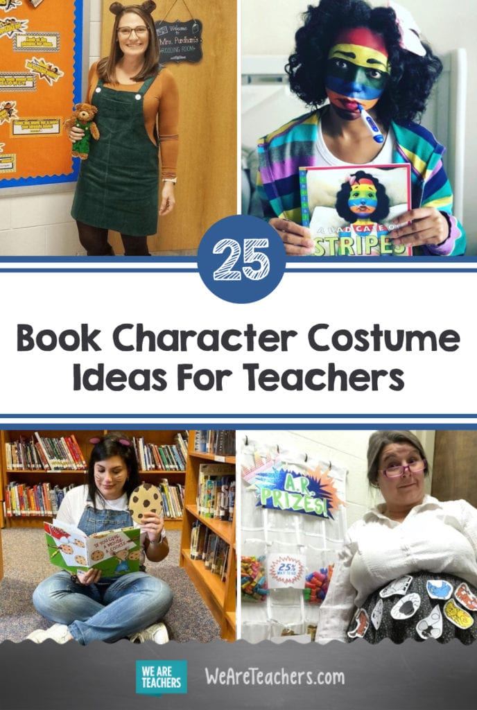 25 Amazing Book Character Costume Ideas For Teachers