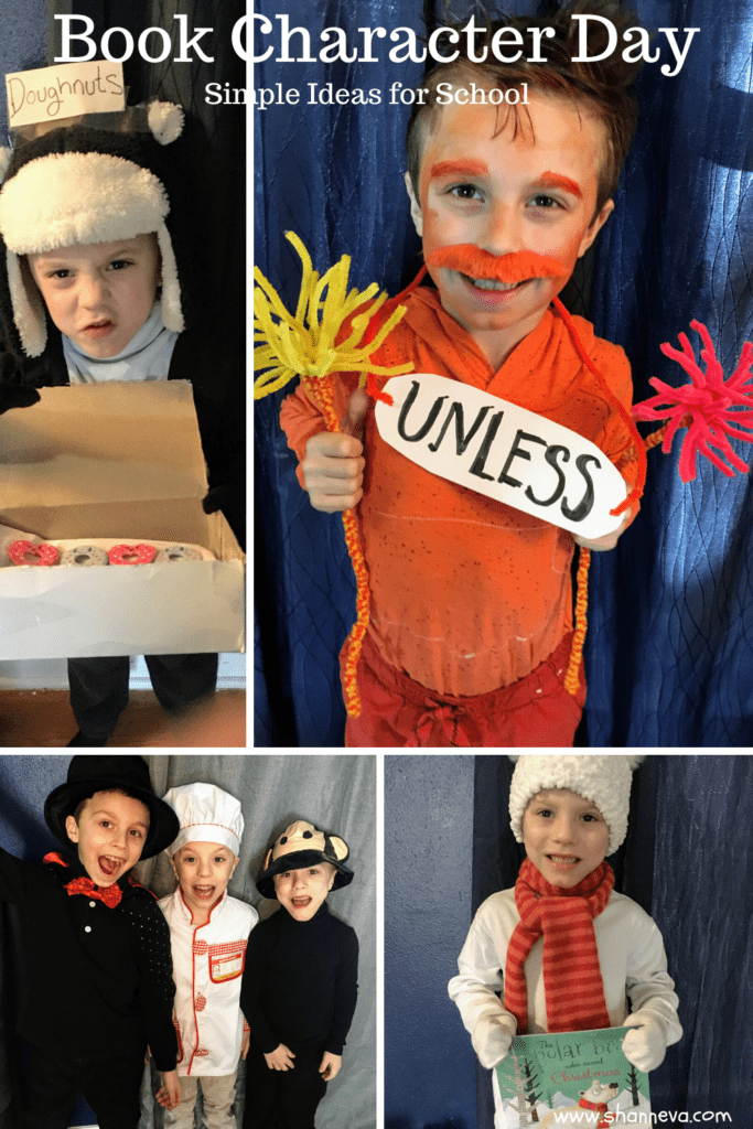 Children dressed up as book characters
