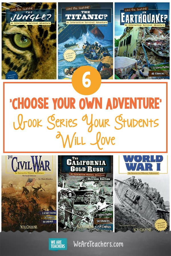 If You Loved Choose Your Own Adventure Books as a Kid, You'll Flip For These Series, Too