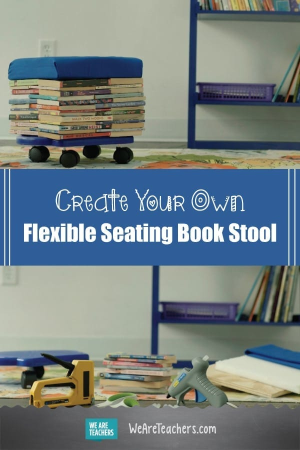 Create Your Own Flexible Seating Book Stool