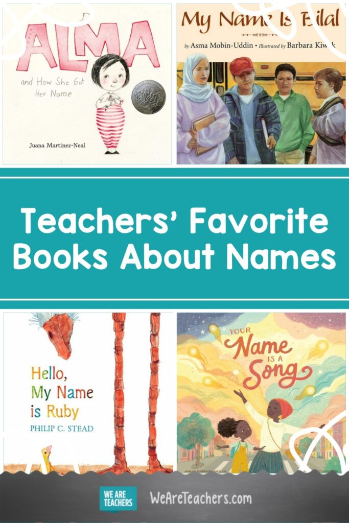 25 Books to Teach Kids About the Importance of Names
