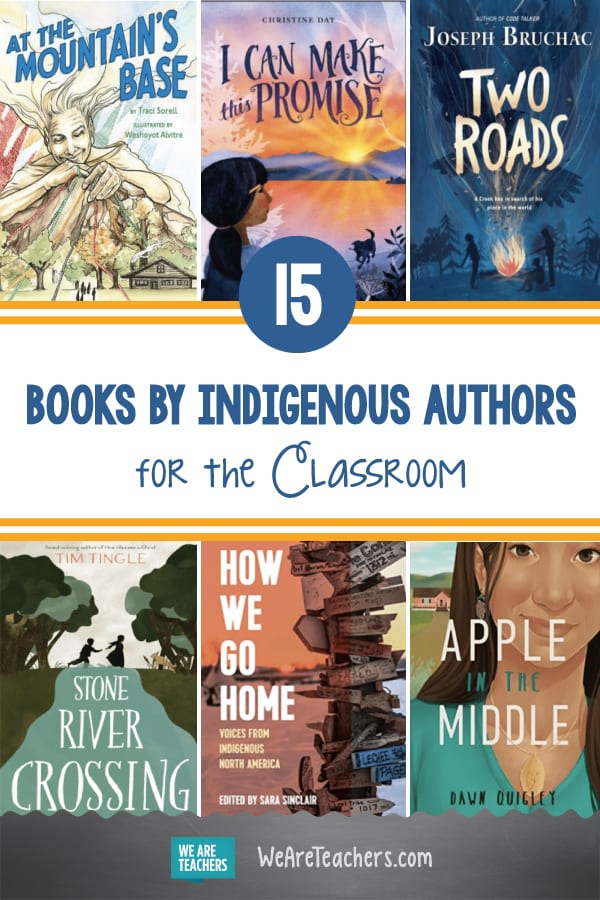 15 Books By Indigenous Authors for the Classroom