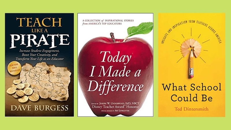 books to survive teacher burnout