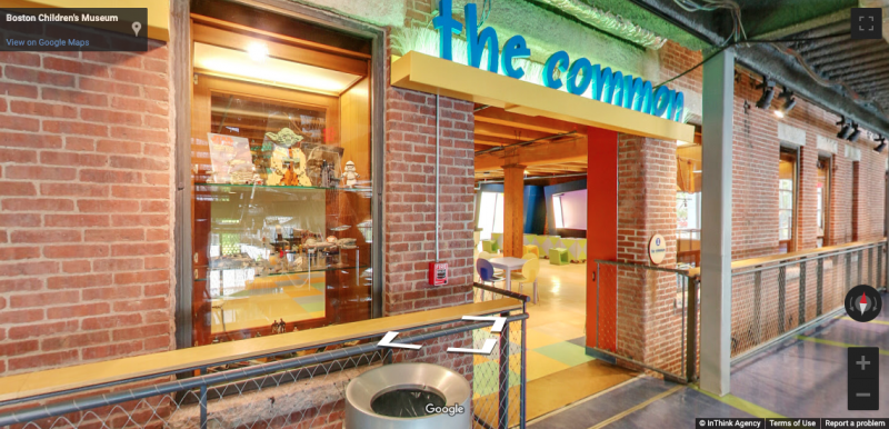 Exterior image of The Common at the Boston Children's Museum
