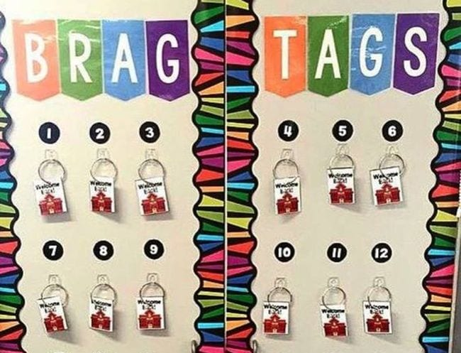 Brag Tags Lucky Little Learners 2