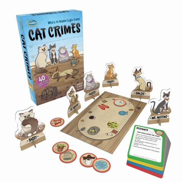 Brain Games Cat Crimes