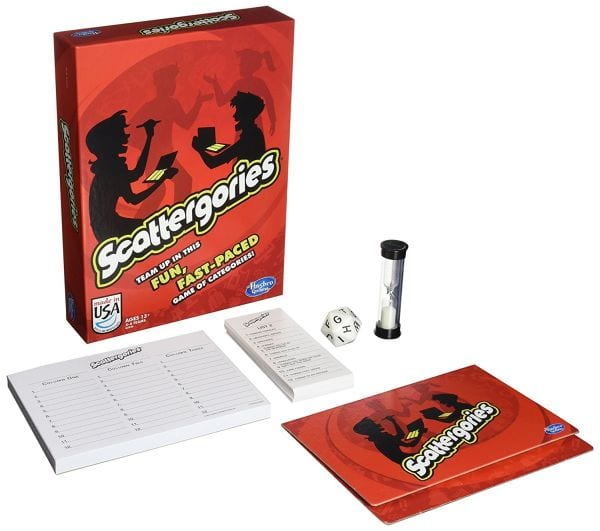 Brain Games Scattergories