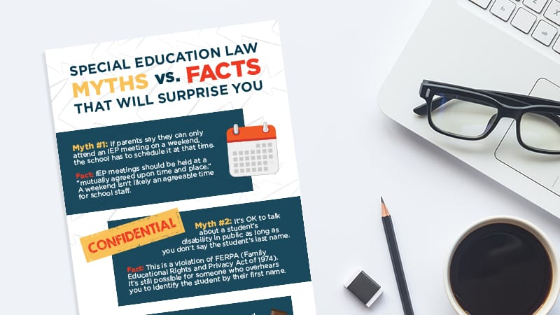 Significant Special Education Legal >> Special Ed Law Myths Vs Facts That Will Surprise You Printable