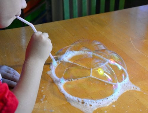 Bubble Trouble - 20 Best Kindergarten Science Activities