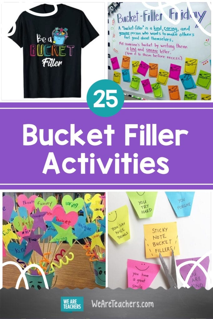 These 25 Bucket Filler Activities Will Spread Kindness in Your Classroom