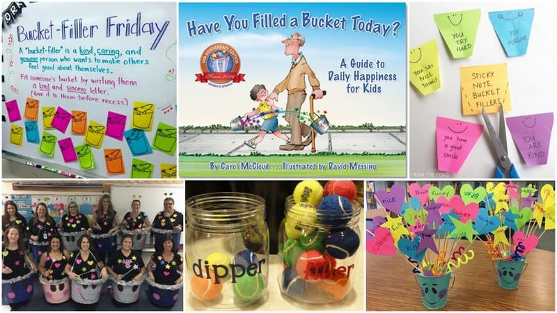 Bucket Filler Activities Feature