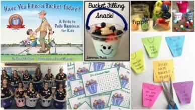 Collage of Best Bucket Filler Activities