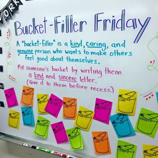 Bucket Filler Activities Proud to be Primary