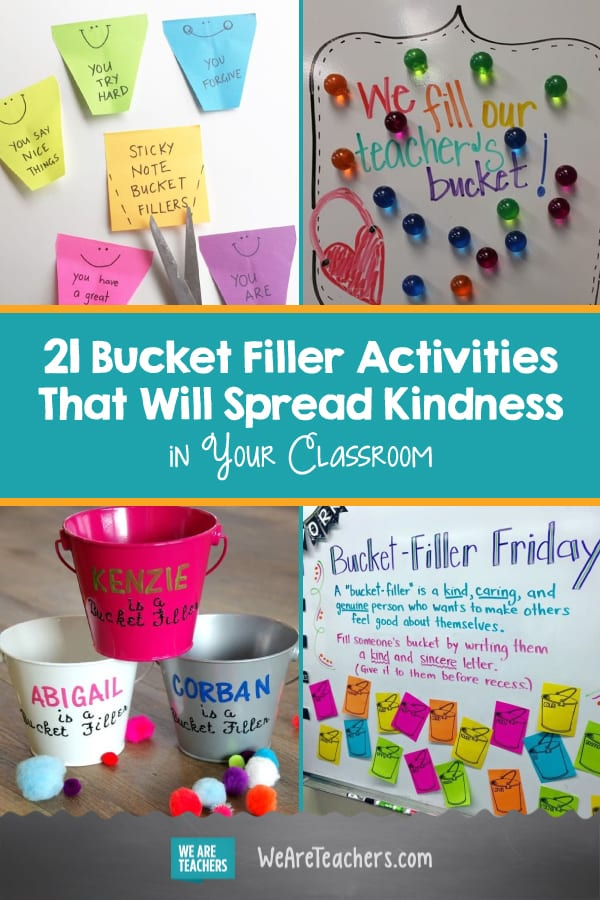 These 21 Bucket Filler Activities Will Spread Kindness in Your Classroom