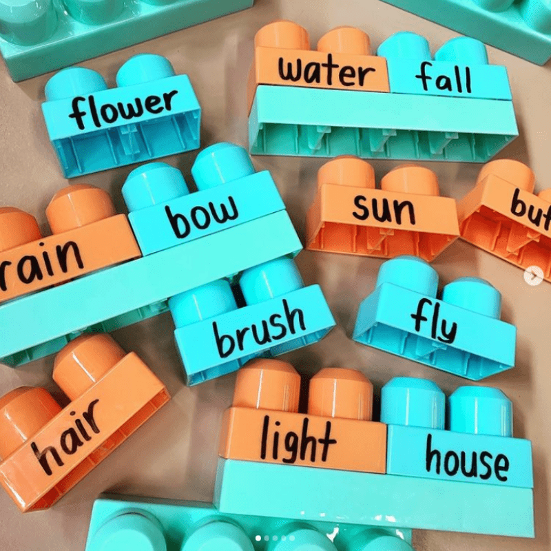 Build Compound Words With Blocks