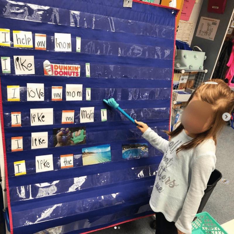 Build Sentences at a Pocket Chart