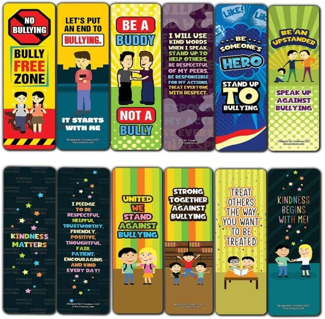 Bullying Posters Bookmarks