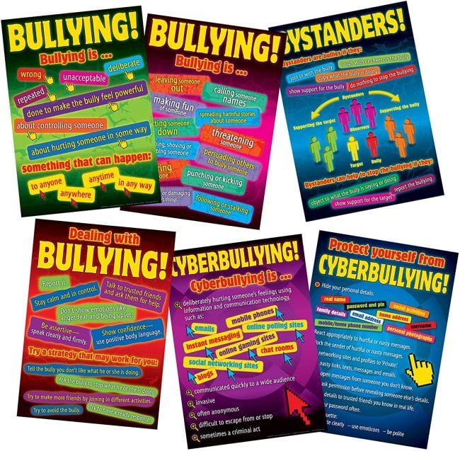 Bullying Posters Cyber Bullying
