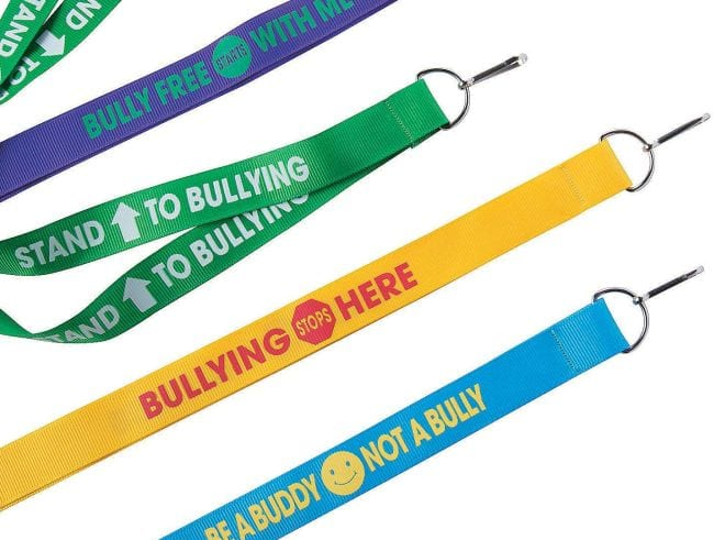 Bullying Posters Lanyards