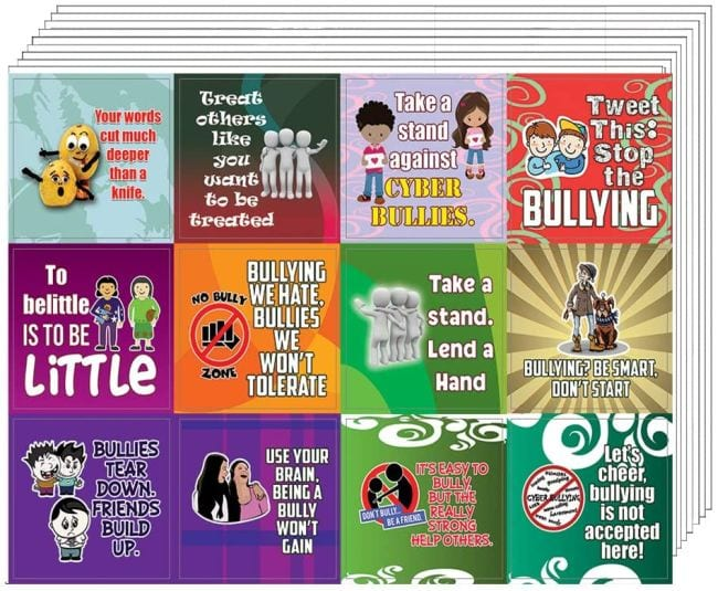 Bullying Posters Stickers