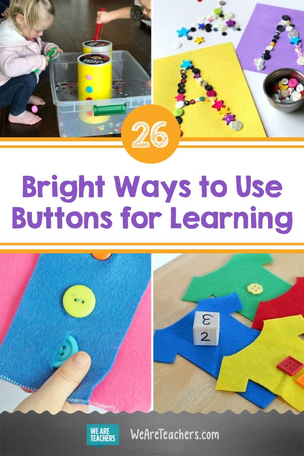 26 Bright Ways to Use Buttons for Learning