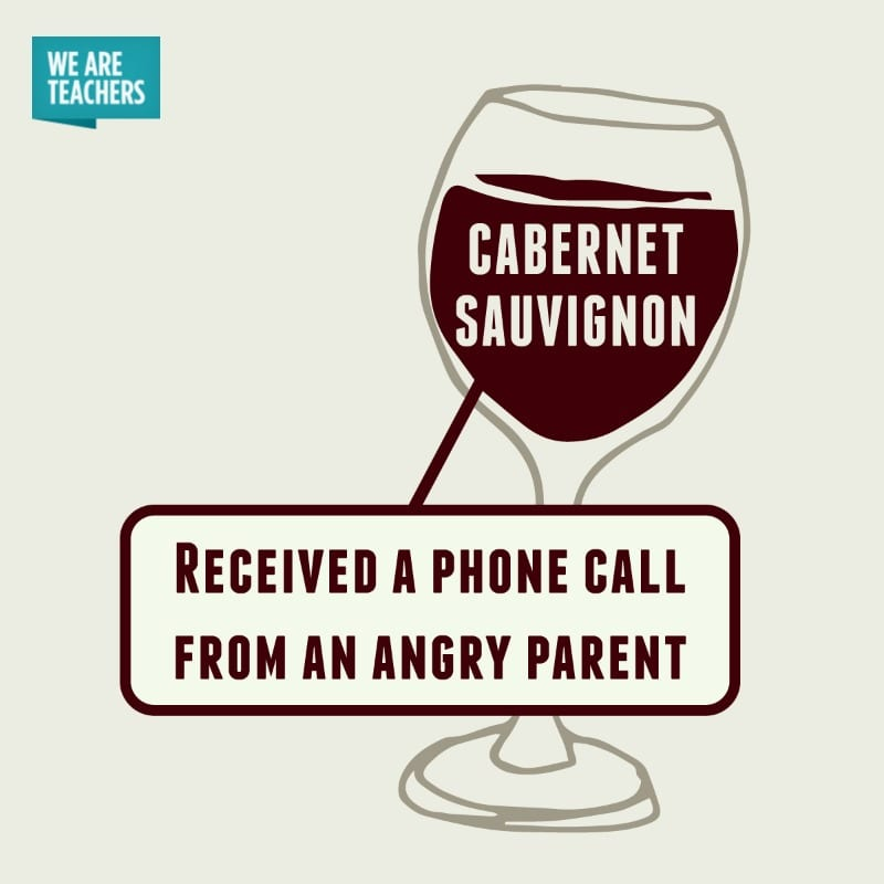 Wine for Teachers Cabernet Sauvignon - WeAreTeachers