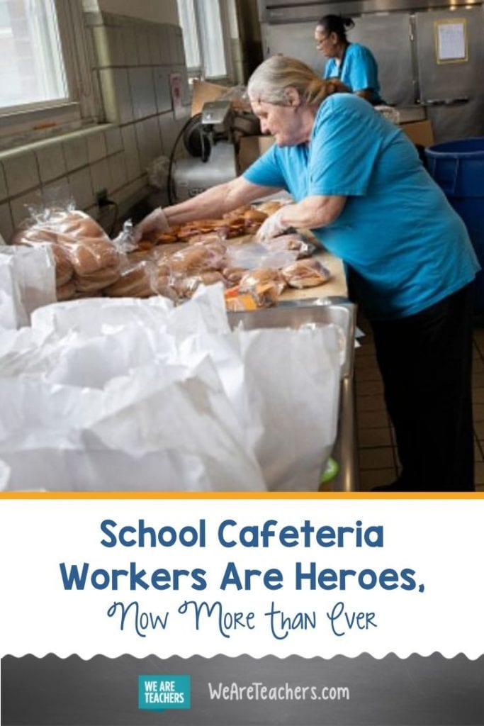 School Cafeteria Workers Are Heroes, Now More Than Ever