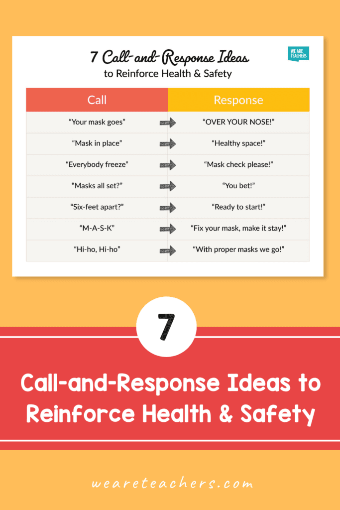 7 Call-and-Response Ideas to Reinforce Health & Safety