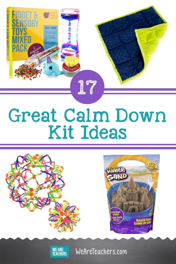 17 Great Ideas for Your Classroom Calm Down Kit