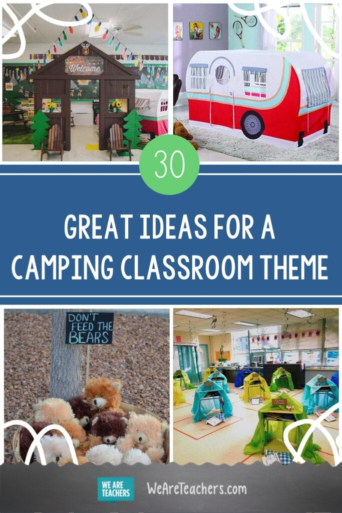 30 Great Ideas for a Camping Classroom Theme