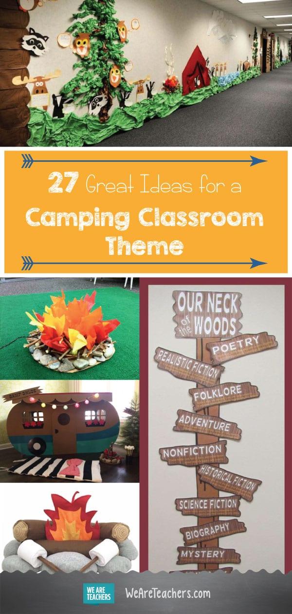 27 Great Ideas For A Camping Classroom Theme Weareteachers