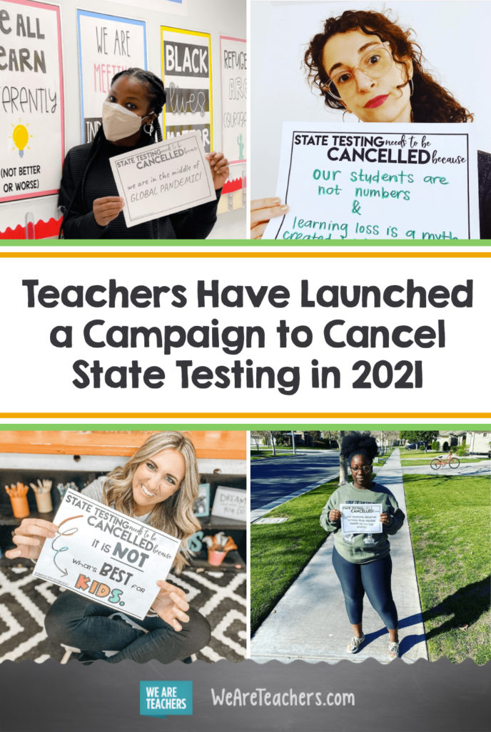Teachers Have Launched a Campaign to Cancel State Testing in 2021
