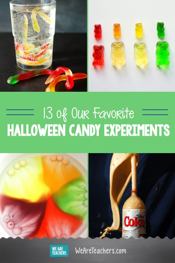 13 of Our Favorite Halloween Candy Experiments